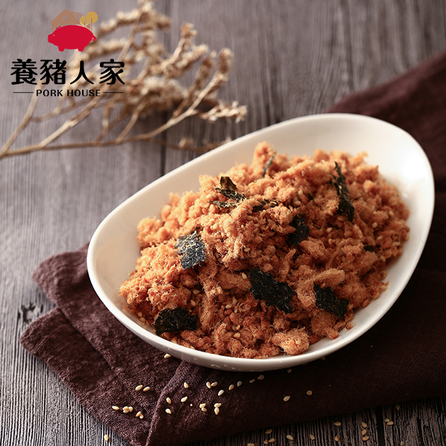 芝麻海苔純豬肉酥(肉鬆) 1